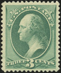 Stamps, 3c Green (158),...