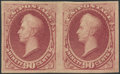 Stamps, 90c Carmine, Plate Proof on stamp paper (191P5),...