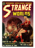 Golden Age (1938-1955):Science Fiction, Strange Worlds #2 (Avon, 1951) Condition: VG/FN....