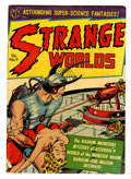 Golden Age (1938-1955):Science Fiction, Strange Worlds #9 (Avon, 1952) Condition: FN-....