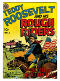 Golden Age (1938-1955):Non-Fiction, Teddy Roosevelt & His Rough Riders #1 (Avon, 1950) Condition:VF/NM....