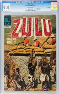 Silver Age (1956-1969):Adventure, Movie Classics - Zulu #nn File Copy (Dell, 1964) CGC NM 9.4 Off-white pages....