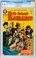 Silver Age (1956-1969):Romance, Hi-School Romance #69 File Copy (Harvey, 1957) CGC NM 9.4 Cream tooff-white pages....