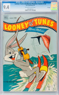 Golden Age (1938-1955):Cartoon Character, Looney Tunes and Merrie Melodies Comics #130 File Copy (Dell, 1952)CGC NM 9.4 Off-white to white pages....