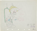 Animation Art:Production Drawing, Pinocchio Production Animation Drawing Original Art (WaltDisney, 1940)....
