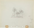Animation Art:Production Drawing, Three Blind Mouseketeers Animation Production DrawingOriginal Art Group (Disney, 1936).... (Total: 2 Items)