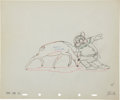 Animation Art:Production Drawing, Snow White and the Seven Dwarfs Animation Production DrawingOriginal Art (Disney, 1937)....