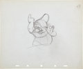 Animation Art:Production Drawing, Snow White and the Seven Dwarfs Doc Animation ProductionDrawing Original Art Group (Walt Disney, 1937).... (Total: 2Original Art)