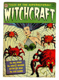 Golden Age (1938-1955):Horror, Witchcraft #3 (Avon, 1952) Condition: FN/VF....