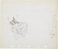 Animation Art:Production Drawing, Mother Goose Goes Hollywood Animation Production DrawingOriginal Art Group (Disney, 1938).... (Total: 2 Items)