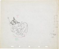 Mother Goose Goes Hollywood Animation Production Drawing Original Art Group (Disney, 1938).... (Total: 2 Items)