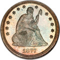 Proof Seated Quarters, 1877 25C PR66 NGC....