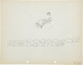 Animation Art:Production Drawing, Dognappers Donald and Mickey Production Drawing AnimationArt Group (Walt Disney, 1934).... (Total: 2 Original Art)