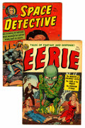 Golden Age (1938-1955):Horror, Eerie and Space Detective Group (Avon, 1952).... (Total: 2 ComicBooks)