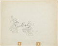 Animation Art:Production Drawing, The Klondike Kid Animation Production Drawing Original Art(Disney, 1932)....