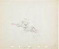 Animation Art:Production Drawing, Mickey's Circus Animation Production Drawing Original Art(Disney, 1936)....