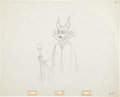 Animation Art:Production Drawing, Sleeping Beauty Animation Production Drawing Original Art (Disney, 1959)....