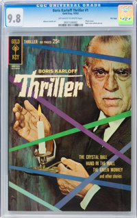 Boris Karloff Tales of Mystery File Copies Box Lot (Gold Key, 1962-80) Condition: Average NM