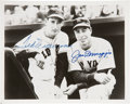 Autographs:Photos, Ted Williams and Joe DiMaggio Dual-Signed Photograph. ...