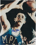 Basketball Collectibles:Others, George Mikan Signed Photograph. ...