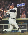 Autographs:Others, Reggie Jackson Signed Poster. ...