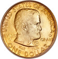 Commemorative Gold, 1922 G$1 Grant With Star MS66 PCGS....