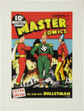 Original Comic Art:Covers, C. C. Beck Master Comics #21 Cover Re-Creation Original Art(1975)....