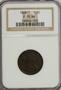 Half Cents: , 1808/7 1/2 C F15 NGC. NGC Census: (1/0). PCGS Population (11/27).Mintage: 400,000. Numismedia Wsl. Price for NGC/PCGS coin...