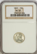 Barber Dimes: , 1912 10C MS65 NGC. NGC Census: (127/32). PCGS Population (130/48). Mintage: 19,350,000. Numismedia Wsl. Price for NGC/PCGS ...