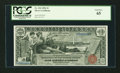 Large Size:Silver Certificates, Fr. 224 $1 1896 Silver Certificate PCGS Gem New 65....