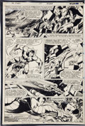 Original Comic Art:Panel Pages, John Byrne and Terry Austin X-Men #137 page 43 Original Art(Marvel, 1980)....
