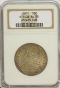 Bust Half Dollars: , 1814 50C AU55 NGC. O-102A. NGC Census: (40/203). PCGS Population(55/161). Mintage: 1,039,075. Numismedia Wsl. Price for N...