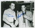 Autographs:Photos, Duke Snider and Willie Mays Dual-Signed Photograph. ...