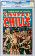 Golden Age (1938-1955):Horror, Chamber of Chills #22 File Copy (Harvey, 1954) CGC NM- 9.2 Cream tooff-white pages....