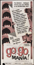 "Movie Posters:Rock and Roll, Go Go Mania (American International, 1965). Three Sheet (41"" X81""). Rock and Roll.. ..."