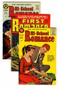 Silver Age (1956-1969):Romance, Hi-School Romance and First Romance - File Copy Group (Harvey,1955-58) Condition: Average VF/NM.... (Total: 8 Comic Books)