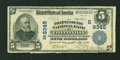 National Bank Notes:West Virginia, Fayetteville, WV - $5 1902 Plain Back Fr. 600 The Fayette County NB Ch. # (S)8345. ...