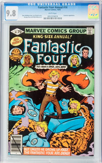 Fantastic Four Annual #14 (Marvel, 1979) CGC NM/MT 9.8 White pages