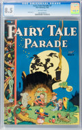 Golden Age (1938-1955):Humor, Fairy Tale Parade #7 (Dell, 1943) CGC VF+ 8.5 Off-white pages....