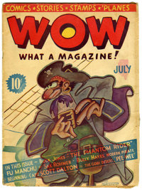 Wow Comics #1 (Henle, 1936) Condition: VG-