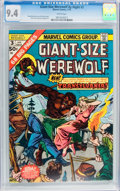 Bronze Age (1970-1979):Horror, Giant-Size Werewolf By Night #3 (Marvel, 1975) CGC NM 9.4 Whitepages....