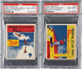 """Non-Sport Cards:Lots, 1937 Wolverine Gum """"Ripley's Believe It or Not"""" PSA NM-MT 8 Pair (2). ..."""
