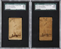 Boxing Cards:General, 1887 N174 Old Judge Prizefighters & Celebrities DominickMccaffrey SGC Graded....