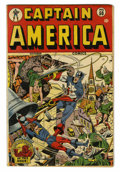Golden Age (1938-1955):Superhero, Captain America Comics #50 (Timely, 1945) Condition: Apparent VG....