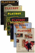 Magazines:Miscellaneous, Playboy Group (HMH Publishing, 1958-59).. ... (Total: 24 Items)