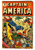 Golden Age (1938-1955):Superhero, Captain America Comics #53 (Timely, 1946) Condition: VG/FN....