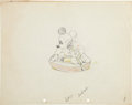 Animation Art:Production Drawing, Mickey's Service Station Animation Production DrawingOriginal Art Group (Disney, 1935).... (Total: 4 Items)