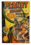Golden Age (1938-1955):Science Fiction, Planet Comics #43 (Fiction House, 1946) Condition: FN....