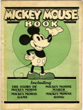 Platinum Age (1897-1937):Miscellaneous, Mickey Mouse Book First Printing (Bibo & Lang, 1930) Condition:VG/FN....