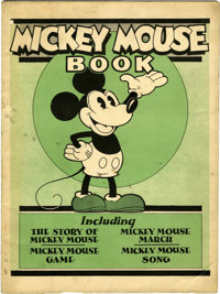 Mickey Mouse Book First Printing (Bibo & Lang, 1930) Condition: VG/FN